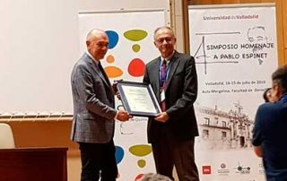 Entrega del premio Weizmann-Moles 2019