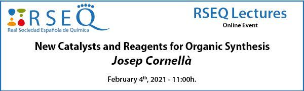 RSEQ Lectures: Prof. Cornellà